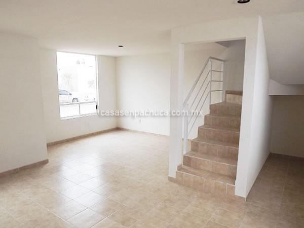 Casas en venta en pachuca desde 380 000 y hasta 600 000 for Escaleras para casas de 2 pisos