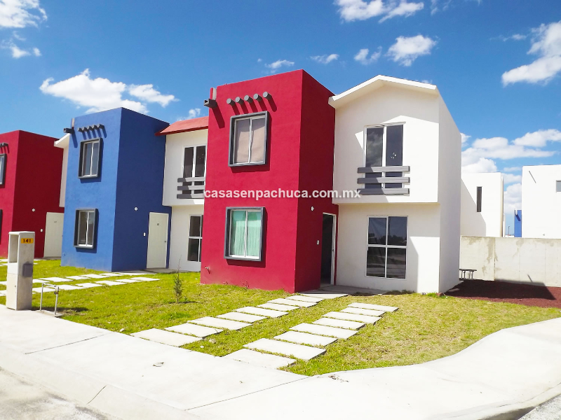 Casas En Venta En Pachuca De 1 Y 2 Pisos Desde 426 000