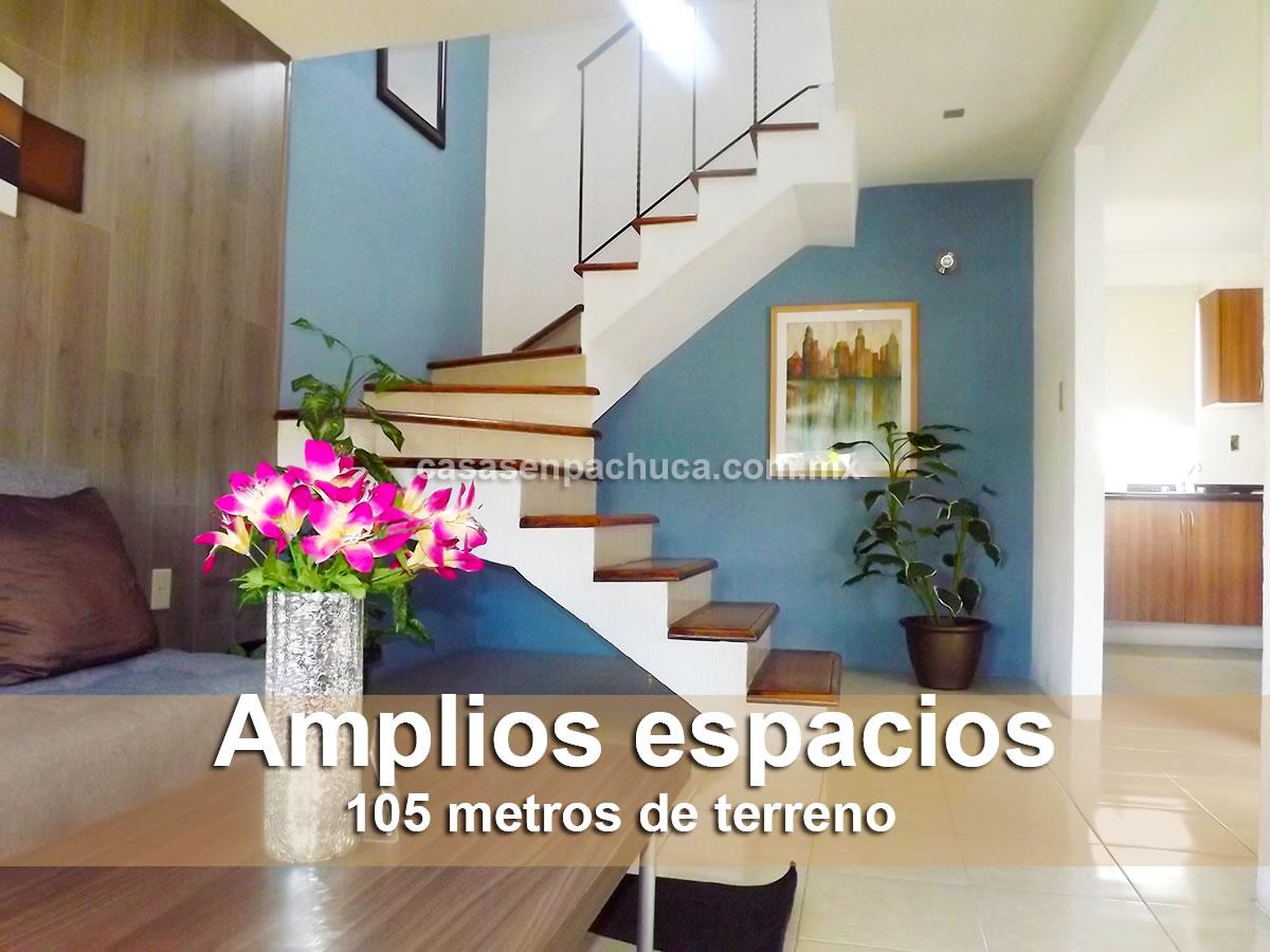 Casas En Venta En Pachuca De 1 Y 2 Pisos Desde 426000